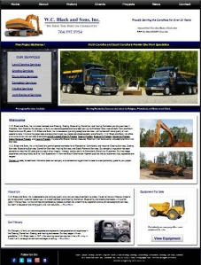 New Website for W.C. Black and Sons, Inc.